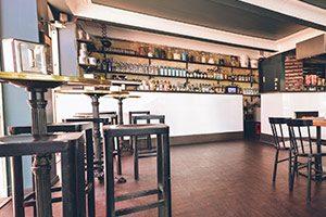 Innenansicht des Burgerladens Ronnie Biggs Burger in Ulm.