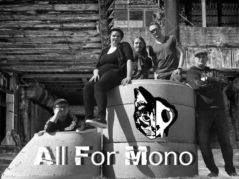 Pressefoto der Band All For Mono